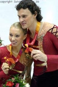 Tatiana Totmianina y Maxim Marinin